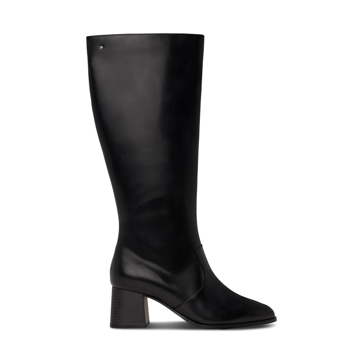 Women's Livia Heeled Tall Boots in Black