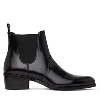 Women's Oslo Heeled Chelsea Boots in Black