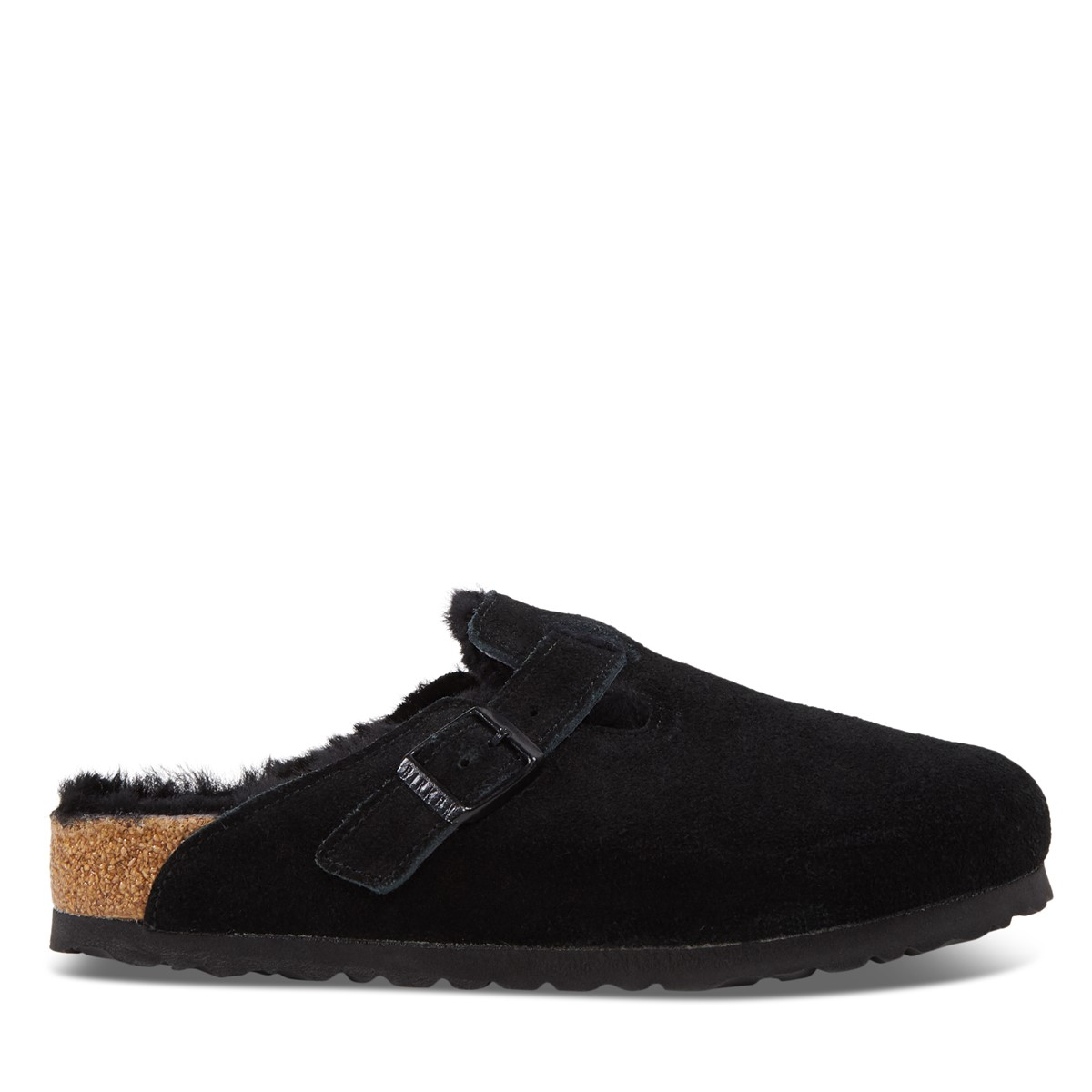 Women's Boston Slippers in Black