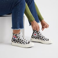 Women's Chuck 70 Hi Leopard Sneakers