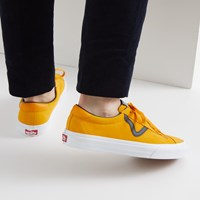 Men's Vans Sport Sneakers in Orange