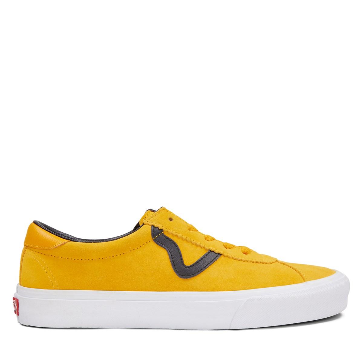 Men's Vans Sport Sneakers in Orange