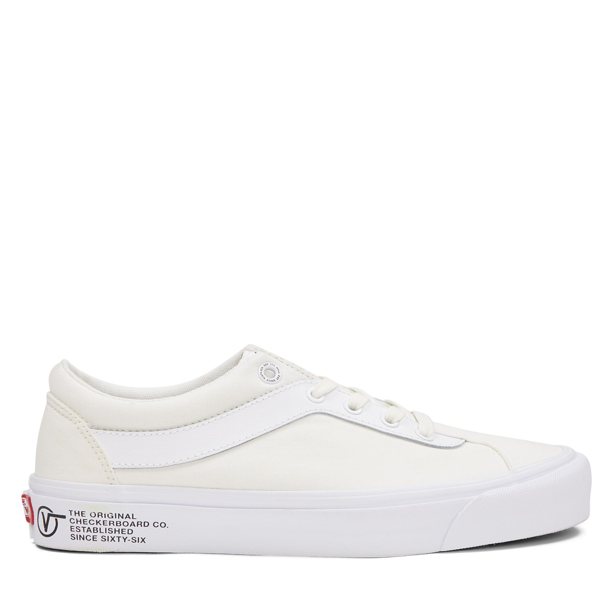 Men's Block Bold Ni Sneakers in Off-White
