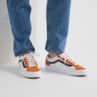 Baskets Retro Sport Style 36 orange pour hommes