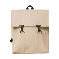 Mini Msn Backpack in Beige