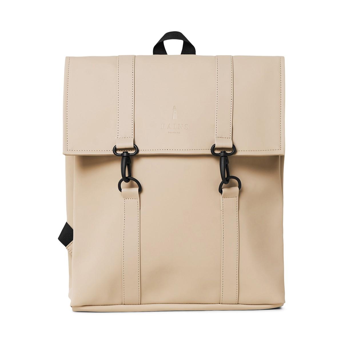 Mini Msn Backpack in Beige