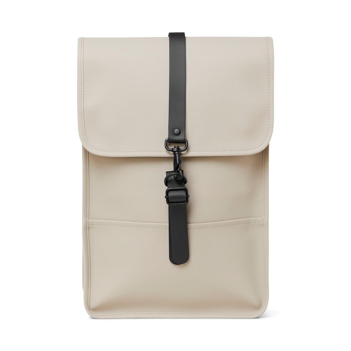 Mini Backpack in Beige