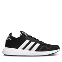 Men's Swift Run X Sneakers in Black/White