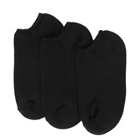 Women's Footie Socks in Black