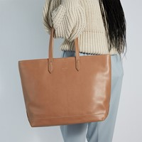 Schlepp Tote Bag in Brown