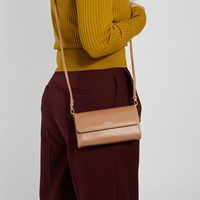 Drewmed Crossbody Bag in Brown