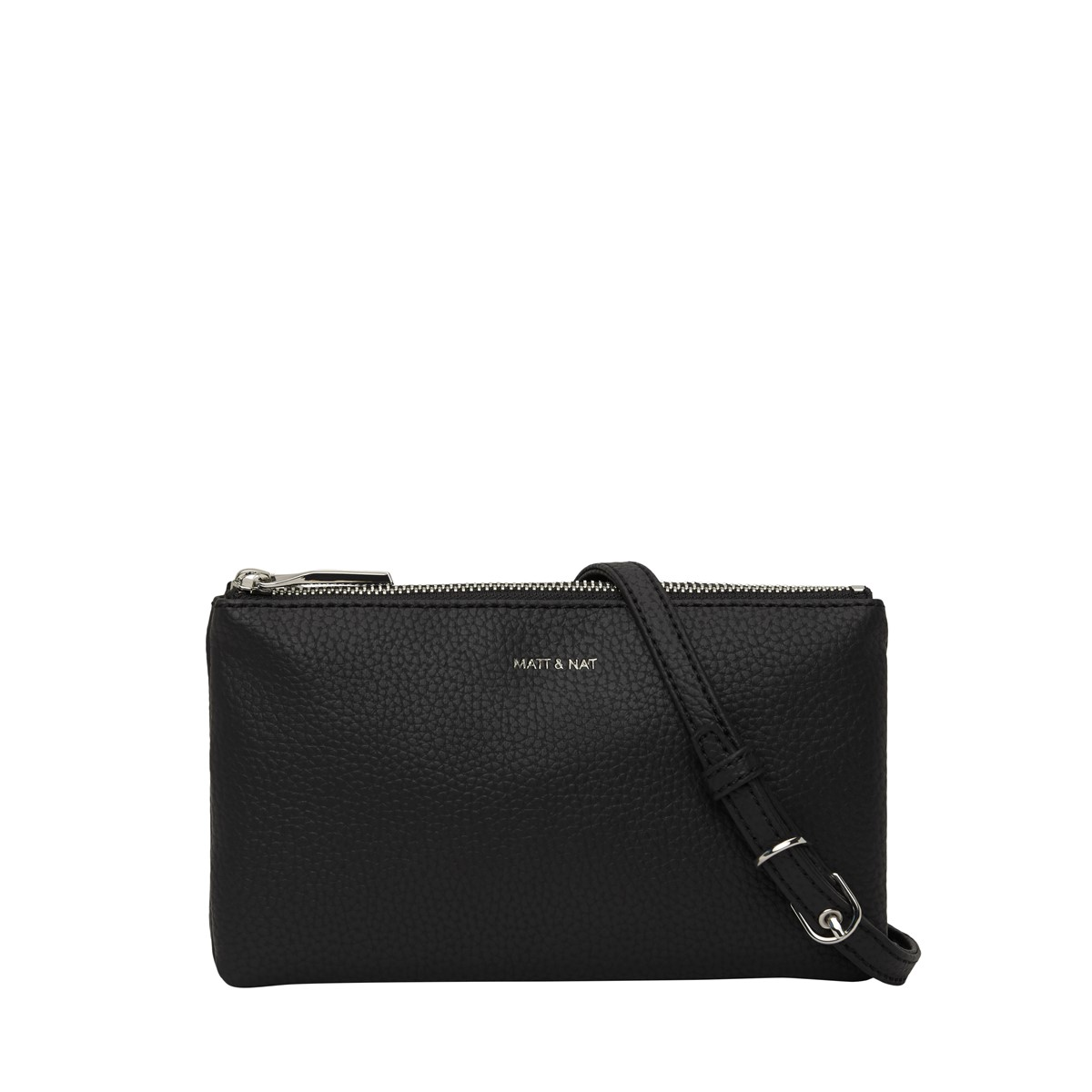 Triplet Crossbody Bag in Black