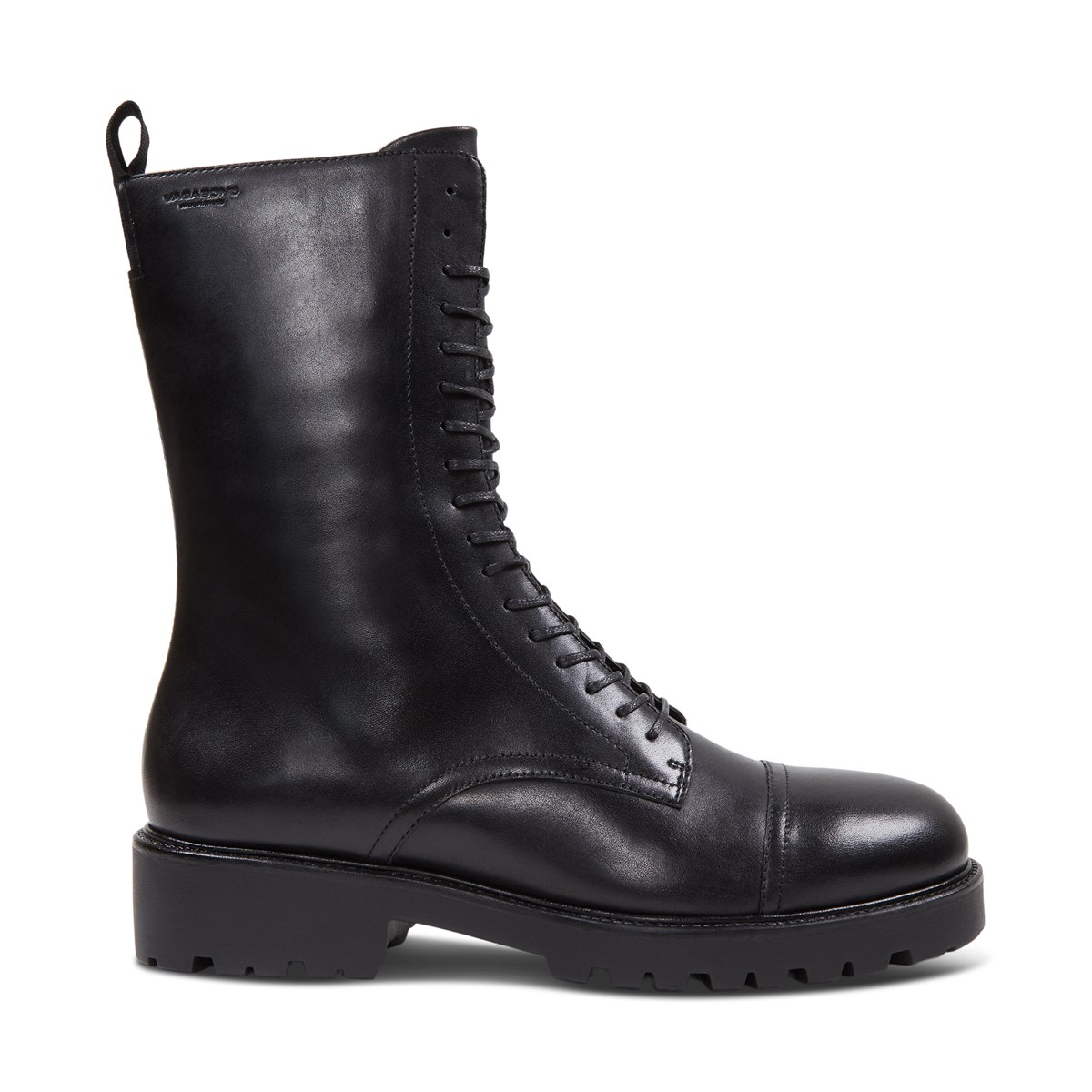 Women's Kenova Mid Heeled Boots in Black