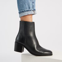 Women's Miriam Heeled Boots in Black