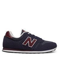 Men's 373 Sneakers in Navy Blue/Burgundy