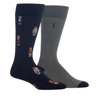 Men's Preppy Bear Quad Slack Socks