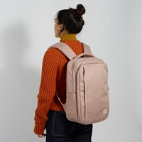 Travel Daypack Backpack in Light Pink