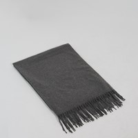 Avery Scarf in Charcoal Grey