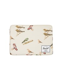Bird Print Anchor Sleeve 13 in Cream