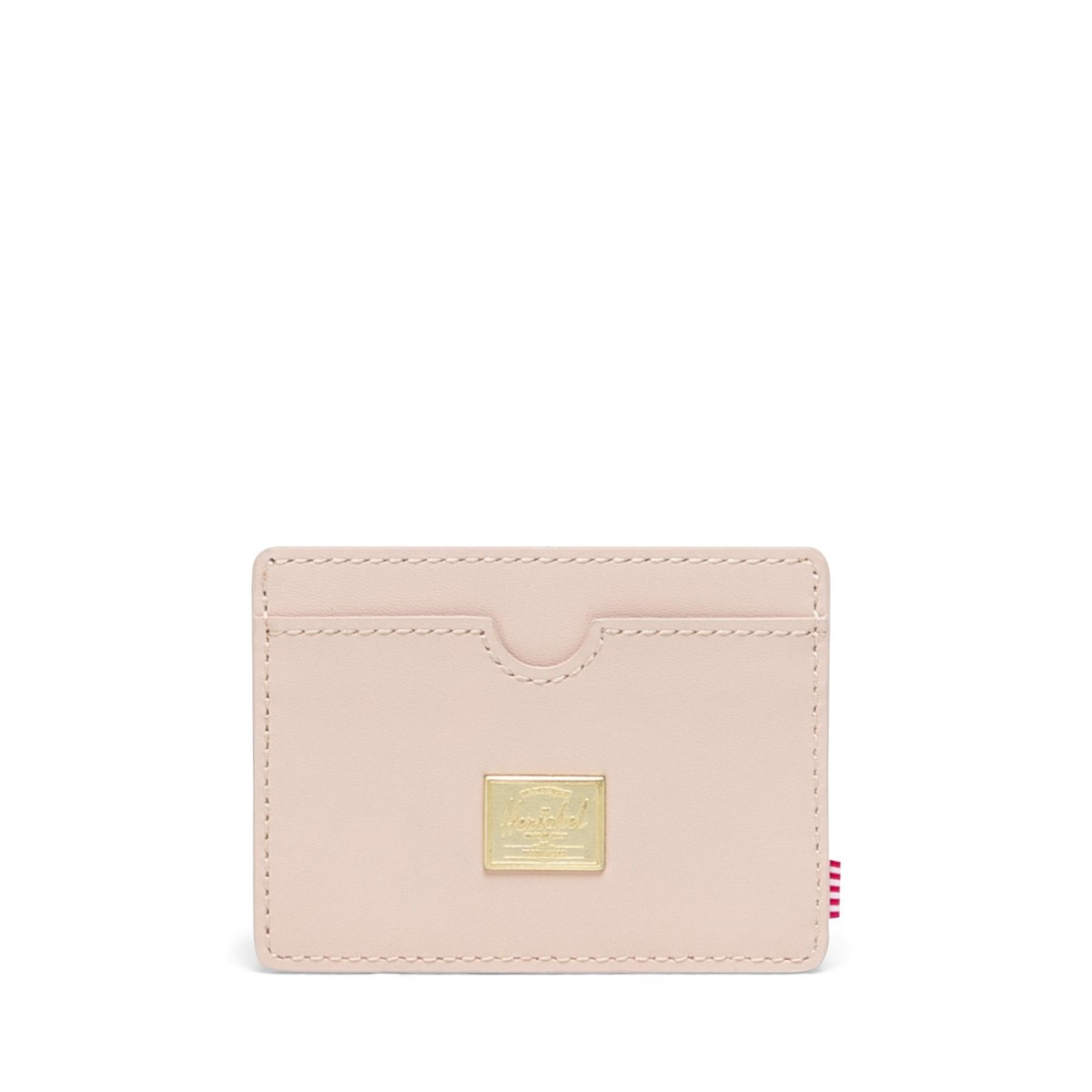 Charlie Leather Wallet in Cream