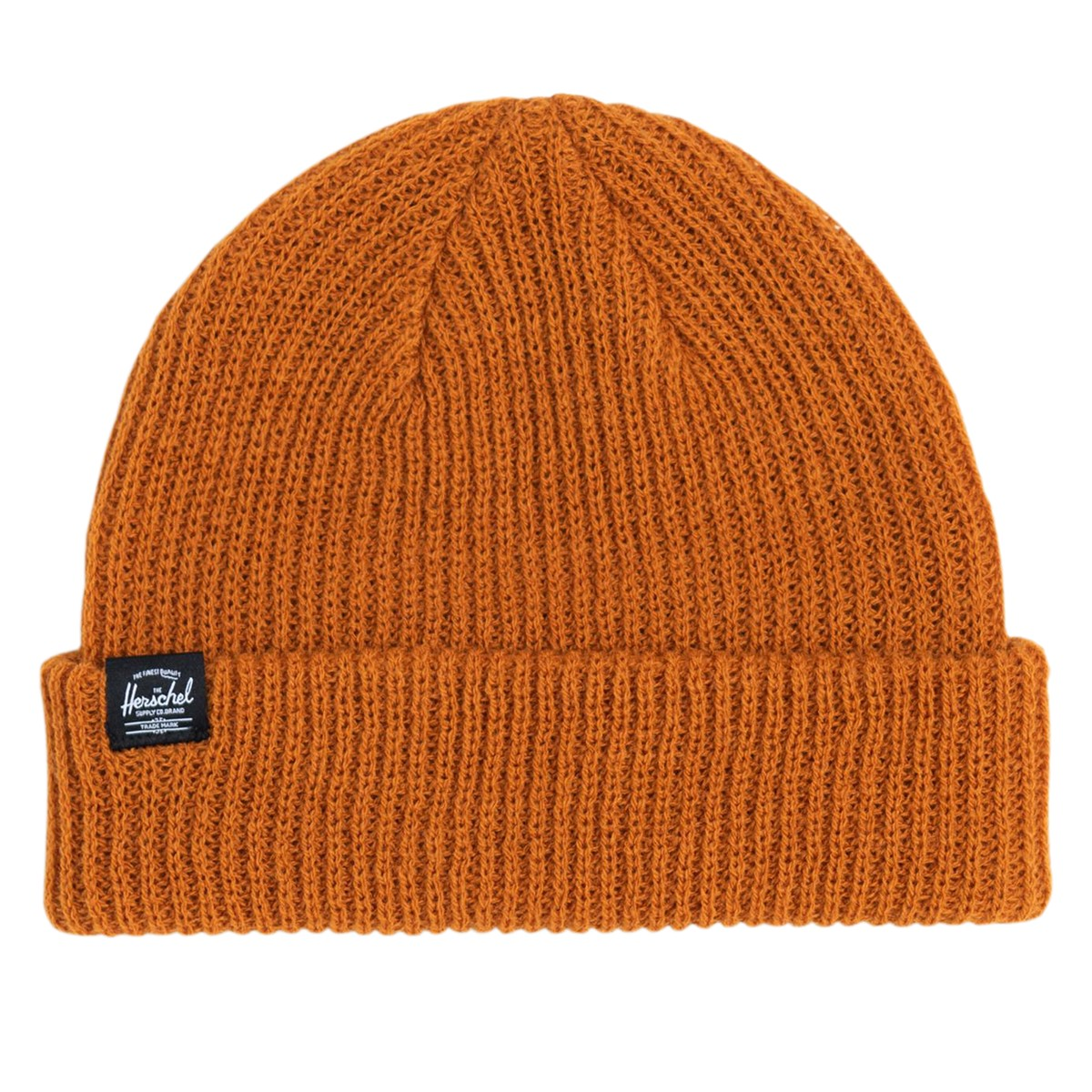 Watch Beanie in Dark Orange