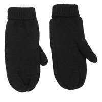 Thinsulate Mittens in Black