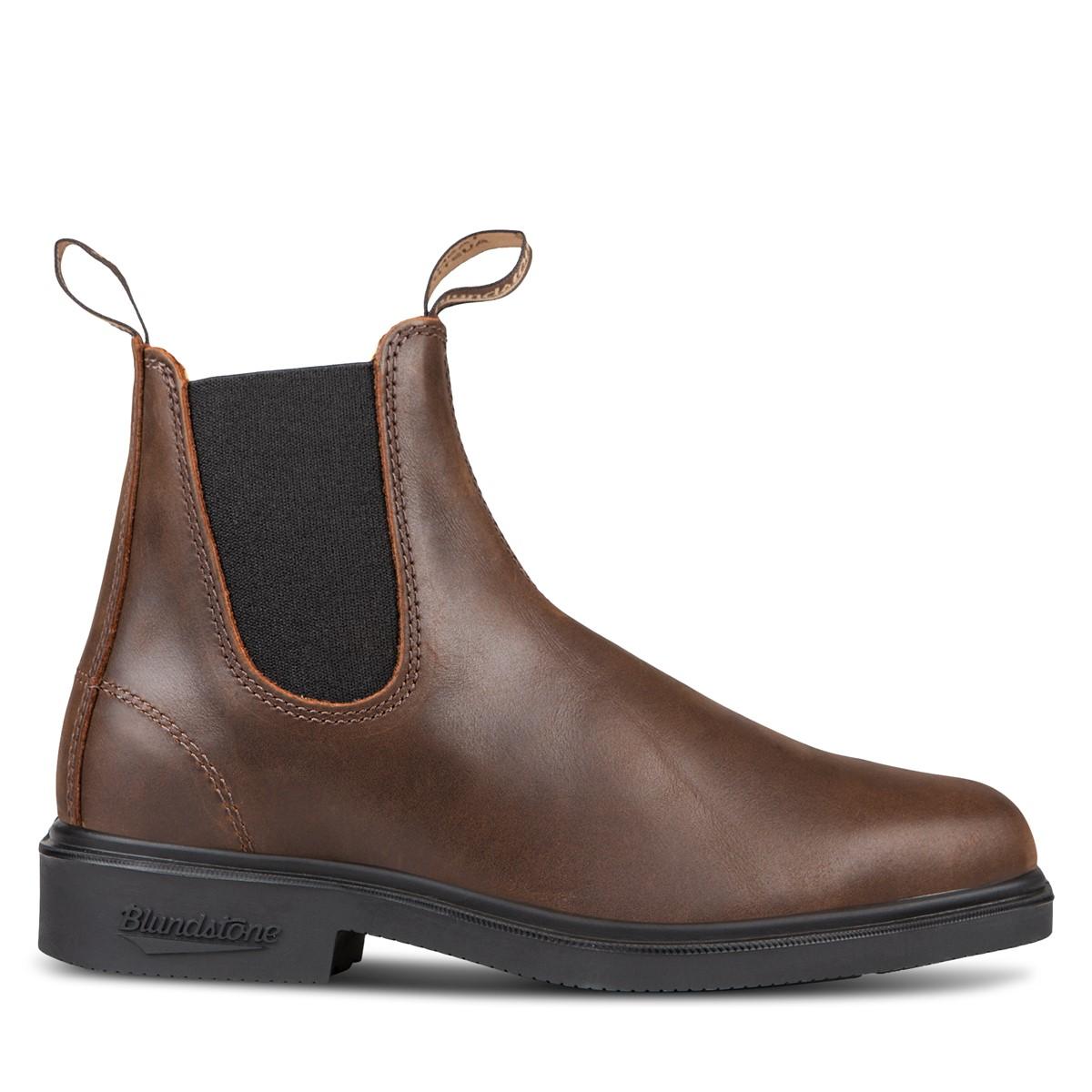 Men's 2029 Chelsea Boots in Rustic Brown