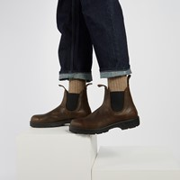 1609 Classic Chelsea Boots in Antique Brown