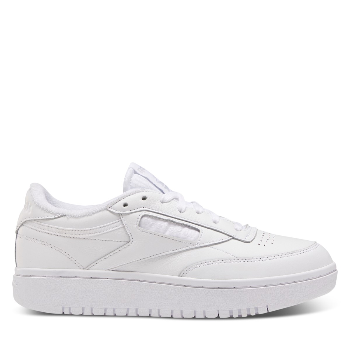 Women's Club C Double Sneakers in White