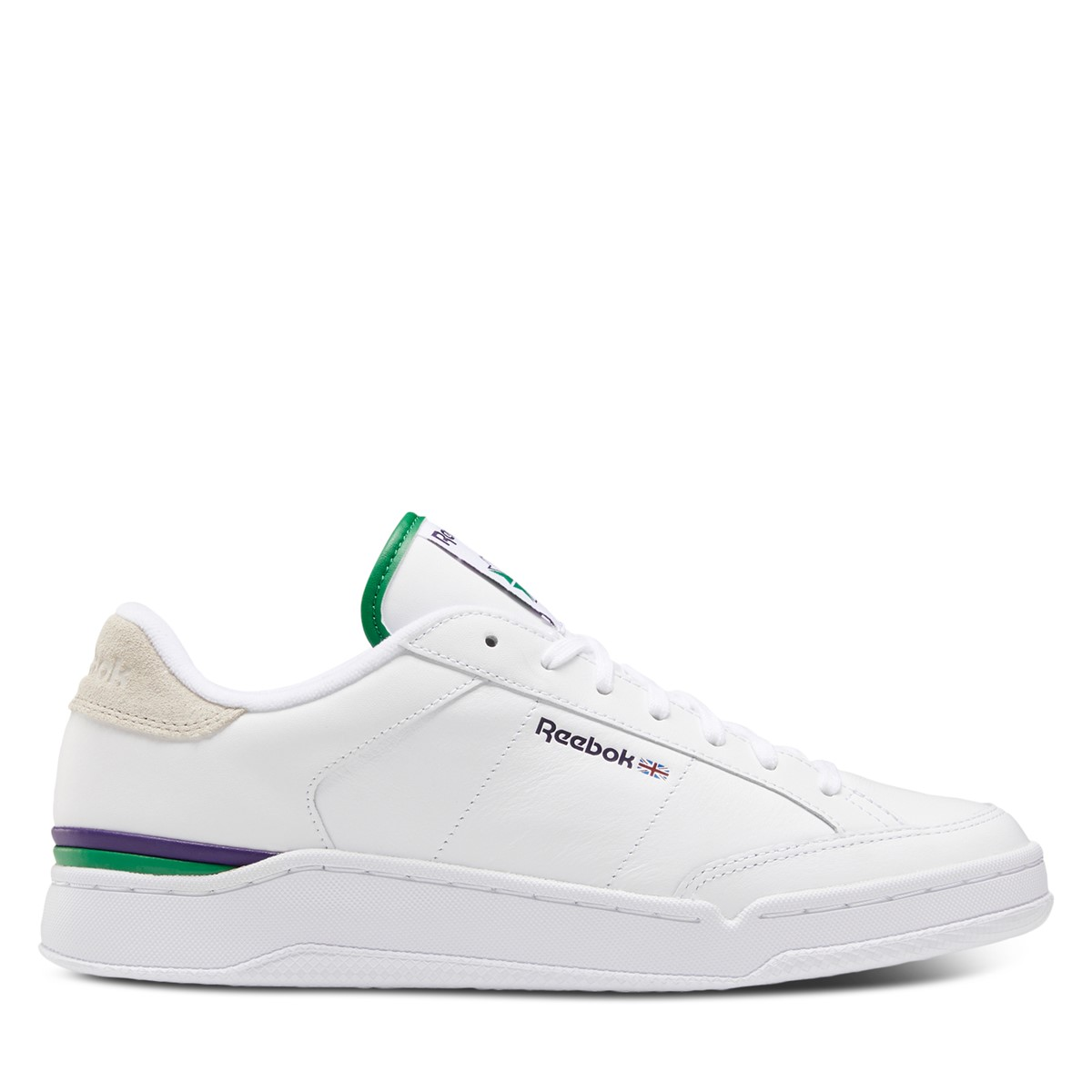 Men's Ad Court Sneakers in White