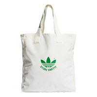Stan Smith Shopper Bag in White and Green