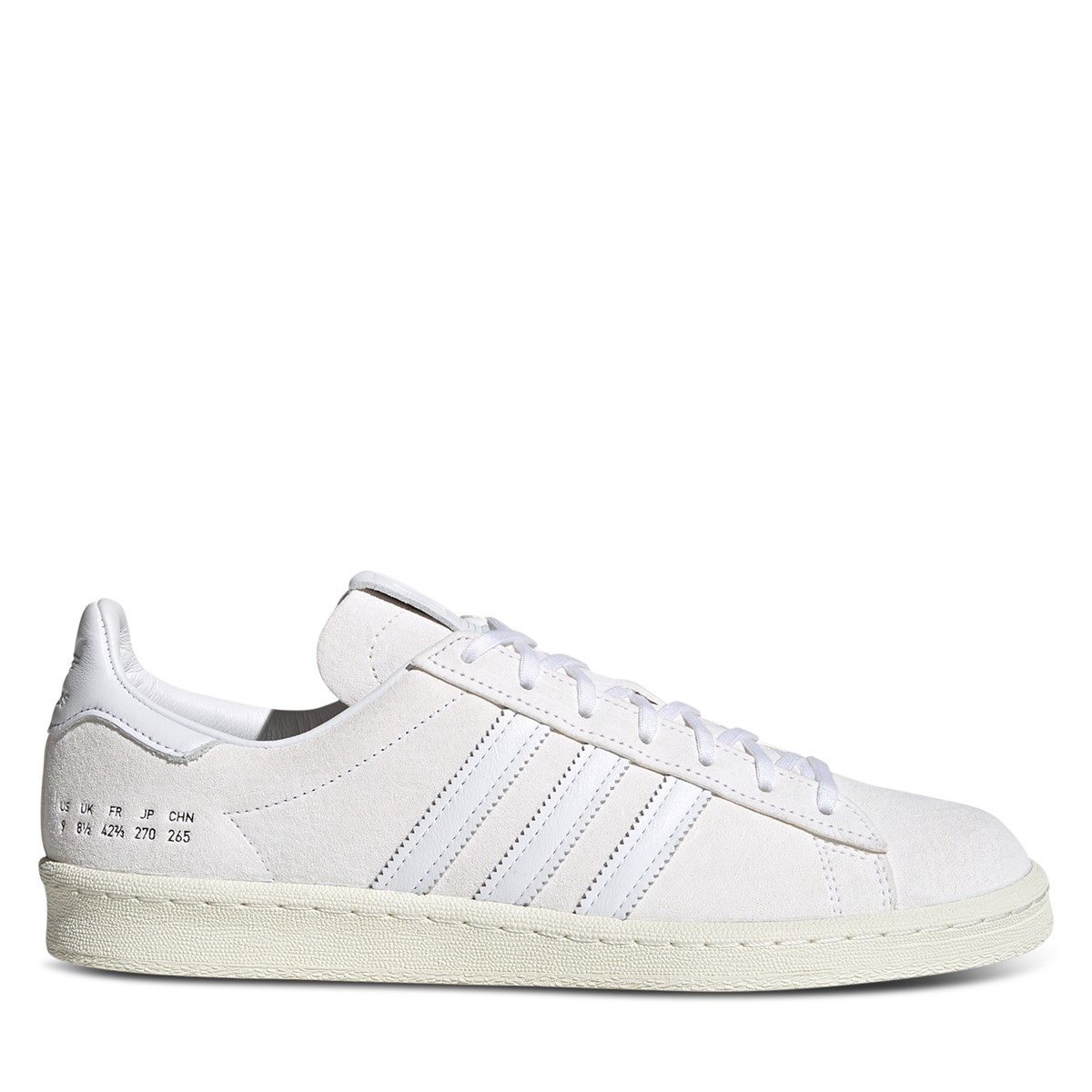 Men's Campus 80 Sneakers in White