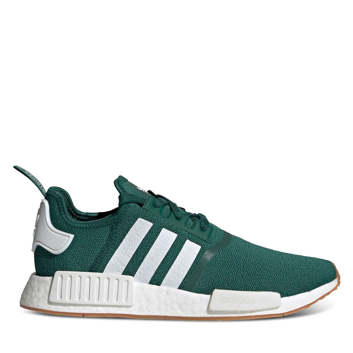 Men's NMD_R1 Sneakers in Green/White
