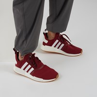 Men's NMD_R1 Sneakers in Burgundy/White