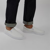Men's Court Rallye Slip-on Sneakers in White