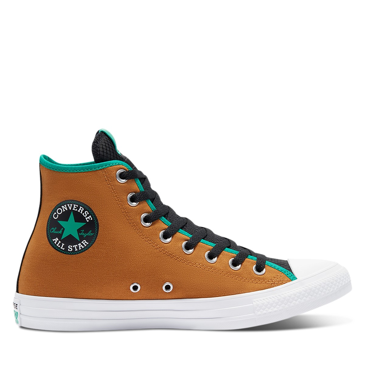 Men's Chuck Taylor All Star Hi Sneakers in Dark Orange