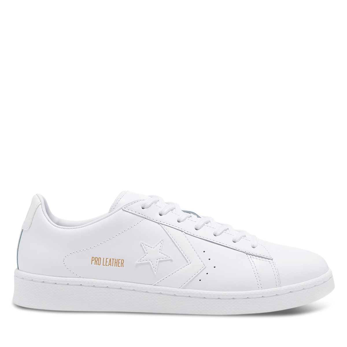 Men's Pro Leather Sneakers in White