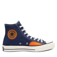 Chuck 70 Hi Sneakers in Navy/Orange