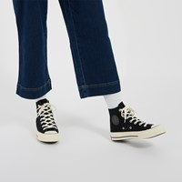 Women's Chuck 70 Hi Camo Sneakers in Black