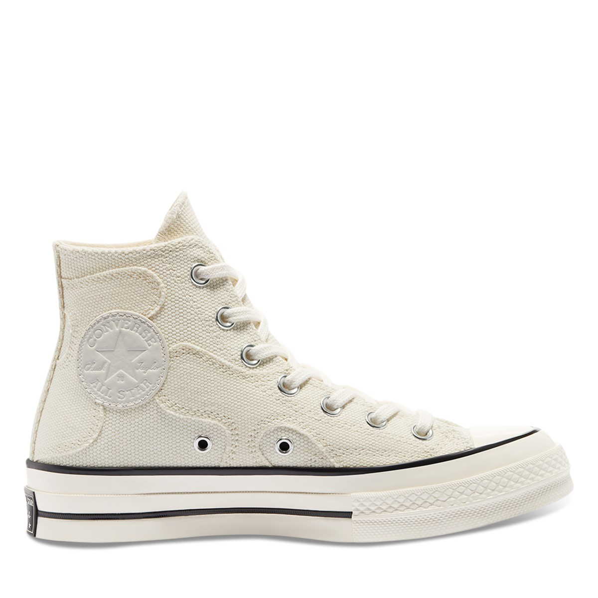 Women's Chuck 70 Hi Camo Sneakers in White