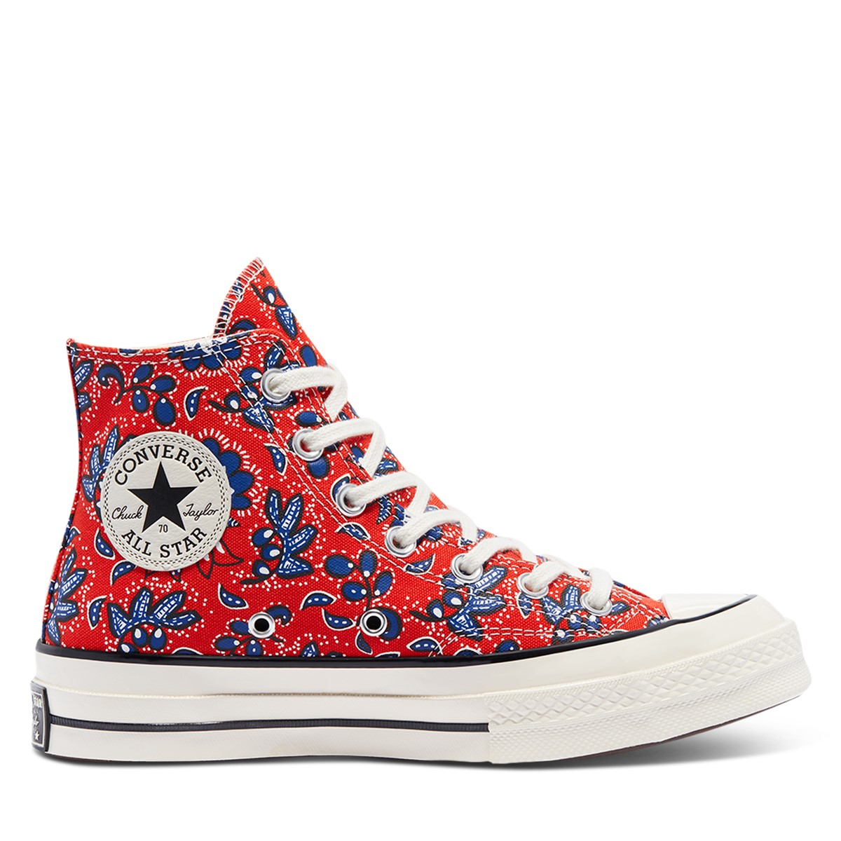 Women's Chuck 70 Hi Sneakers in Red Floral