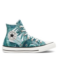 Women's Tropical Chuck Taylor Hi Sneakers in Green