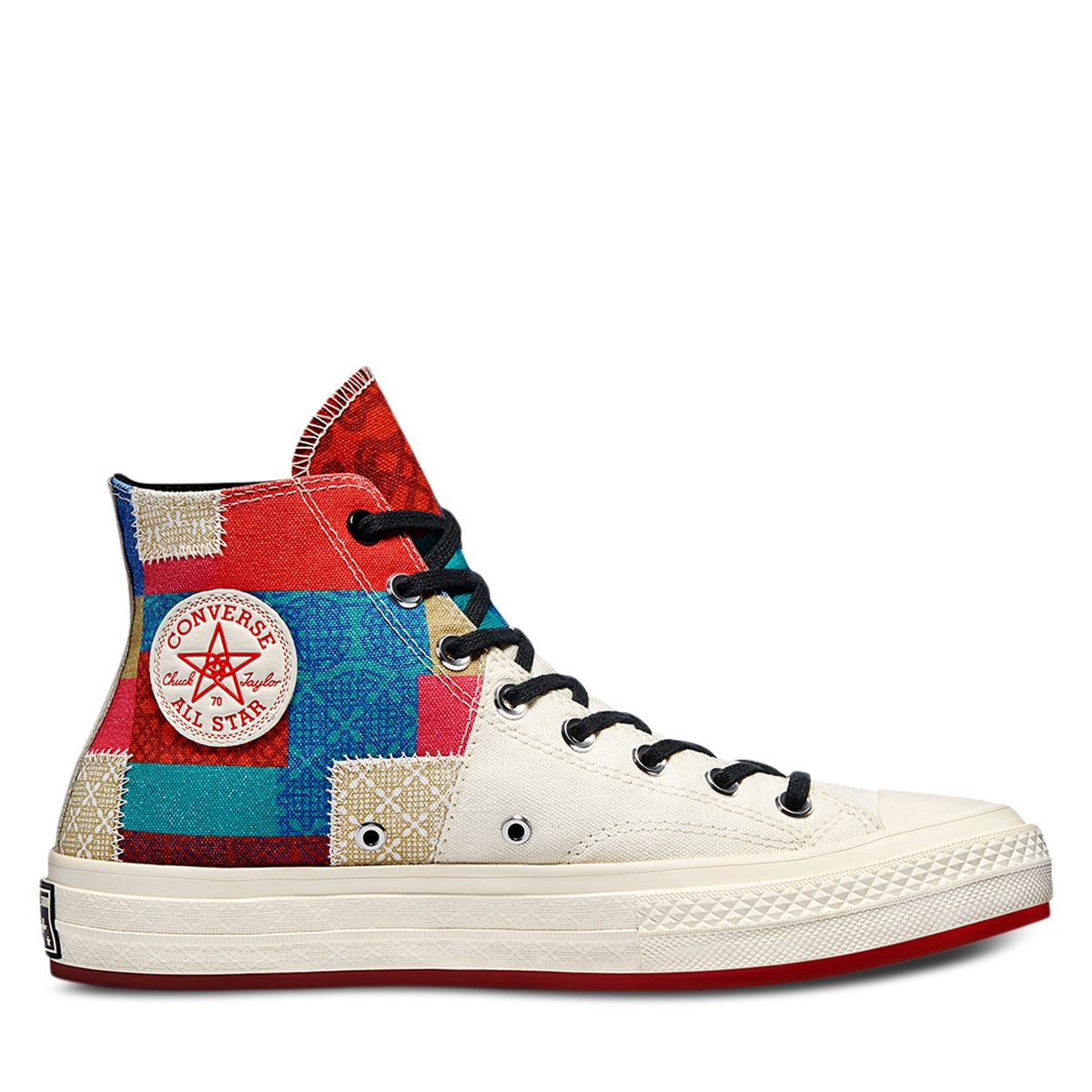 Chinese New Year Patchwork Chuck 70 Hi Sneakers