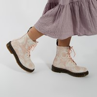 Women's 1460 Boots in Pink Tie Dye