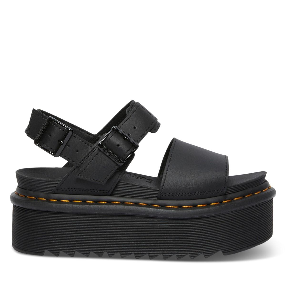 Sandales Voss Quad noires pour femmes