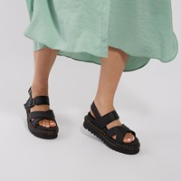 Women's Voss II Platform Sandals in Black