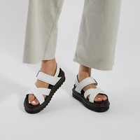 Women's Voss II Platform Sandals in White
