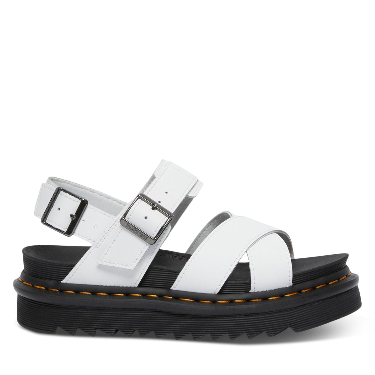 Women's Voss II Platform Sandals in White