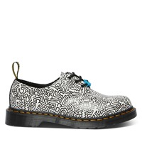 Chaussures 1461 Keith Haring x Dr. Martens noir et blanc