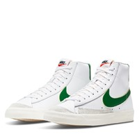 Men's Blazer Mid 77 in White/Green
